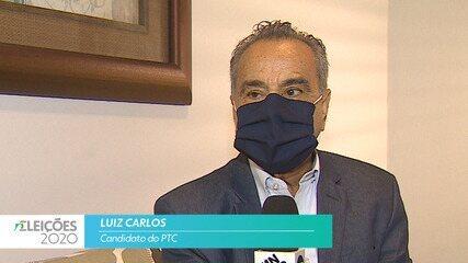 Candidato Luiz Carlos (PTC) fala sobre empregos para cidade de São José