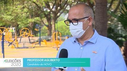 Candidato Professor Agliberto (NOVO) fala sobre empregos para cidade de São José