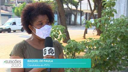 Candidata Raquel de Paula (PSTU) fala sobre empregos para cidade de São José