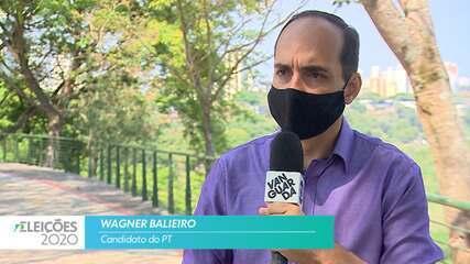 Candidato Wagner Balieiro (PT) fala sobre empregos para cidade de São José