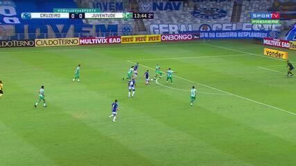 Melhores momentos de Cruzeiro 0 x 0 Juventude, pela Série B do Campeonato Brasileiro