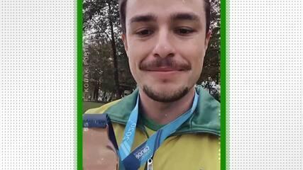 Pepê Goncalves fala sobre a medalha de bronze na Copa do Mundo de Canoagem Slalom