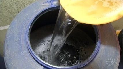 Moradores mostram como reaproveitar água durante rodízio em Sorocaba