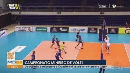 Vôlei Uberlândia perde para Cruzeiro e disputa 3º no Mineiro