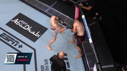 Melhores Momentos de Gadzhimurad Antigulov x Maxim Grishin no UFC Ortega x Zumbi Coreano