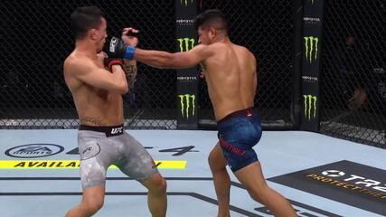 Melhores Momentos de Thomas Almeida x Jonathan Martinez no UFC Ortega x Zumbi