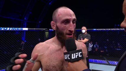 Entrevista de Kutateladze no UFC Ortega x Zumbi Coreano