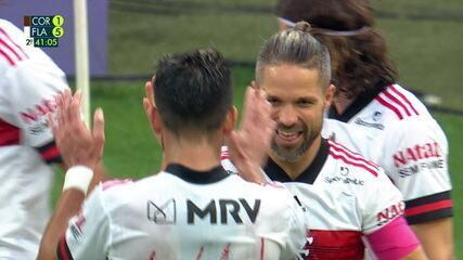 Melhores momentos de Corinthians 1 x 5 Flamengo, pela 17ª rodada do Brasileirão
