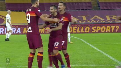 Roma 5 x 2 Benevento pelo Campeonato Italiano