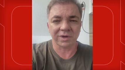 Gean Loureiro publica vídeo dentro de hospital em Florianópolis