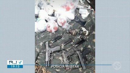 Tiroteio termina com dois suspeitos de tráfico mortos e três feridos em Volta Redonda