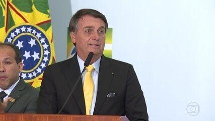 Presidente Jair Bolsonaro tem dito, em discursos, que vacinação contra a Covid-19 não será obrigatória