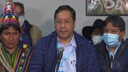 Pesquisa de boca de urna na Bolívia indica vitória de Luis Arce, do partido de Evo Morales