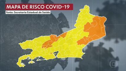 Veja quais regiões do Rio com o maior risco de contágio do coronavírus