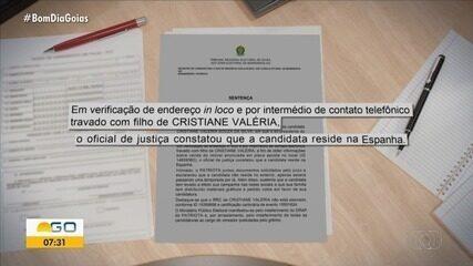 Candidatura a vereadora é indeferida após TRE identificar que política mora na Espanha