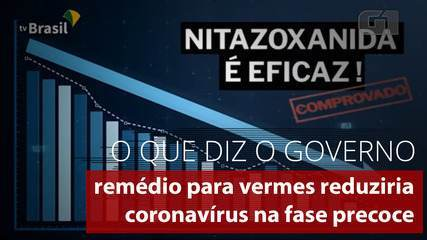 Vídeo do Governo diz que remédio para vermes reduz coronavírus na fase precoce