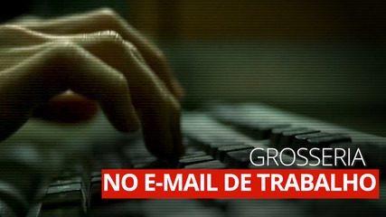 E-mails grosseiros de trabalho podem causar estresse e problemas de sono