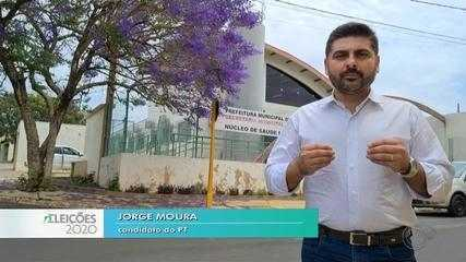 Candidato Jorge Moura fala sobre as propostas para a saúde em Bauru