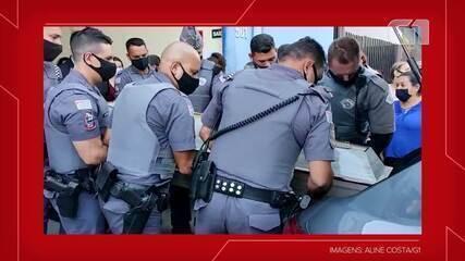 Policial militar assassinado em São Paulo é sepultado em Presidente Prudente