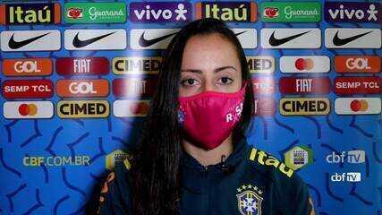 Luana fala sobre versatilidade e preparação da seleção feminina para a Olimpíada
