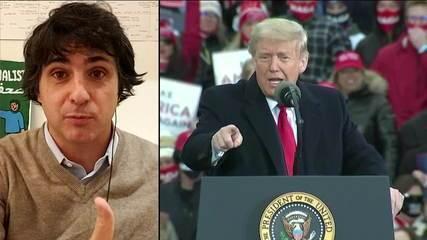 Donald Trump abandona entrevista de maneira repentina