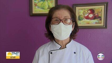 Idosa de Olinda vira empreendedora aos 80 anos