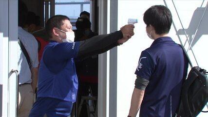 O Comitê Tóquio 2020 deu início aos testes de segurança para as Jogos Olímpicos