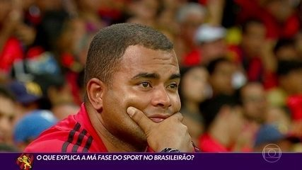 Cabral explica a má fase do Sport no Brasileirão