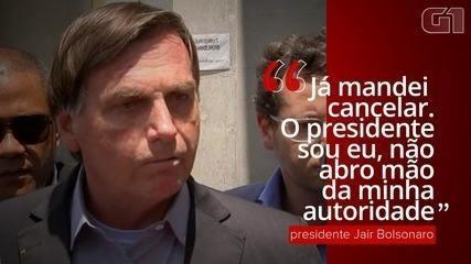 'Já mandei cancelar', diz Bolsonaro sobre protocolo de intenções da vacina CoronaVac