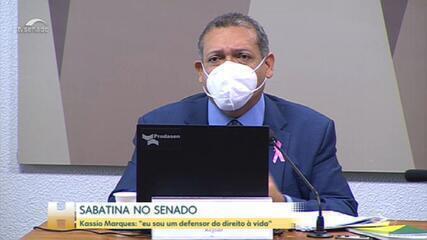 Desembargador Kassio Marques passa por sabatina para vaga no STF