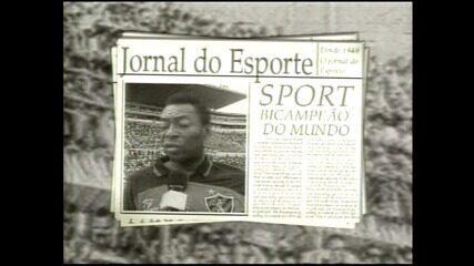 Telegrama seria a prova de que Pelé foi oferecido ao Sport, em 1957