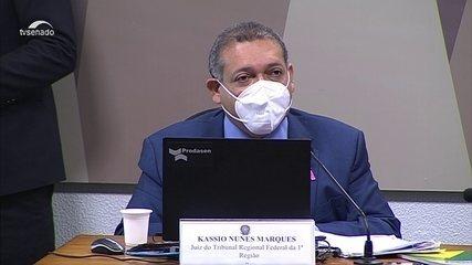 Plenário do Senado aprova Kassio Marques para a vaga de ministro do STF