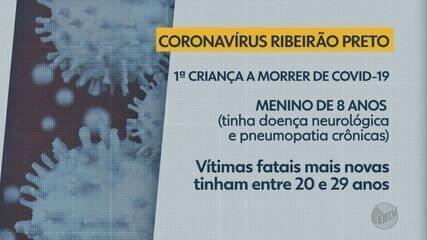 Ribeirão Preto, SP, registra primeira morte de criança com Covid-19