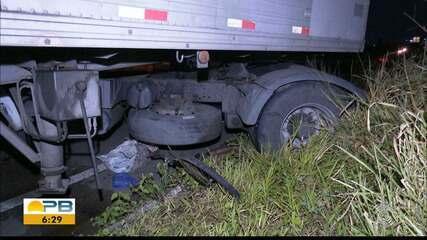 Ciclista morre atropelado na BR-101, em Santa Rita