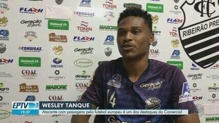 Wesley Tanque, destaque do Comercial