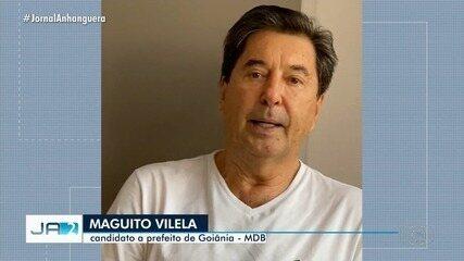 Com Covid-19, Maguito Vilela é internado em hospital de Goiânia