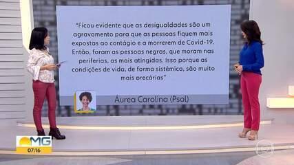 Fato ou Fake analisou declaração da candidata à prefeitura de BH, Áurea Carolina