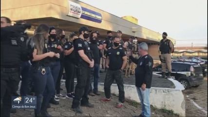Operação em Pouso Alegre (MG) combate o tráfico de drogas