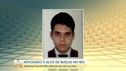Advogado de réus da Lava Jato é alvo de buscas no Rio