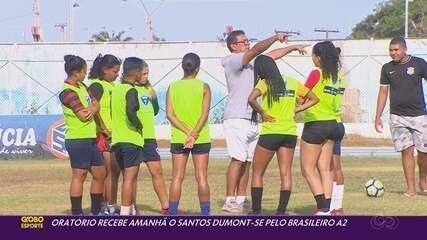 Oratório faz treino apronto para reestreia no Campeonato Brasileiro Feminino A2