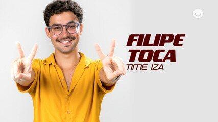 Conheça o participante Filipe Toca, do Time IZA