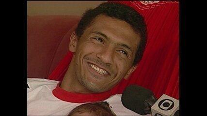 Em 2000, Leonardo, do Sport, fala sob expectativa de defender a Seleção