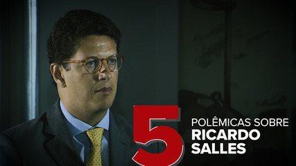 Veja as recentes polêmicas sobre o ministro do Meio Ambiente, Ricardo Salles