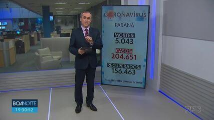 Paraná registra mais 9 mortes por Covid-19