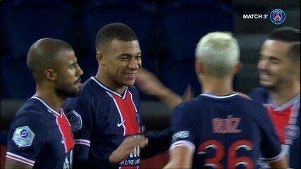 Melhores momentos de PSG 4 x 0 Dijon pelo Campeonato Francês