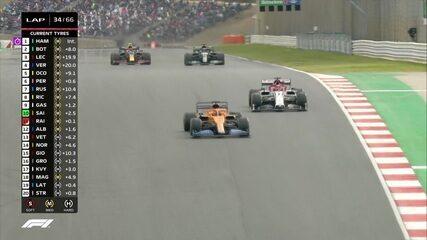 GP de Portugal: Sainz ultrapassa Raikkonen