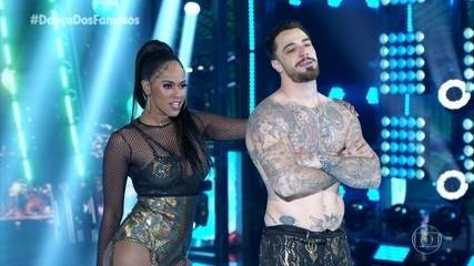 Felipe Titto e Brennda Martins dançam 'Oh Juliana'