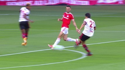 Os gols de Internacional 2 x 2 Flamengo pela 18ª rodada do Brasileirão 2020