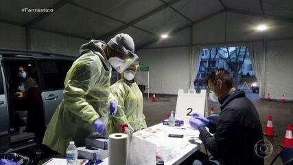 EUA registram mais de 80 mil casos de Covid nos últimos dois dias
