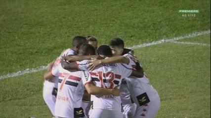 Gols da vitória do Botafogo-SP sobre o Vitória, pela 18ª rodada da Série B do Brasileiro